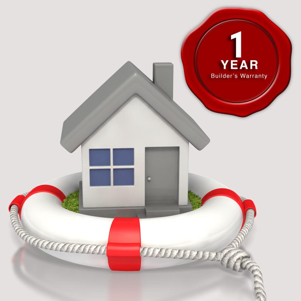 1-Year Builders Warranty