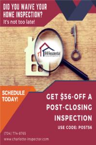 Post Closing Inspection Promo